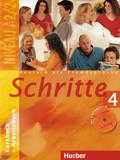 Schritte - Deutsch als Fremdsprache: Kurs- und Arbeitsbuch, m. Arbeitsbuch-Audio-CD; Bd.4