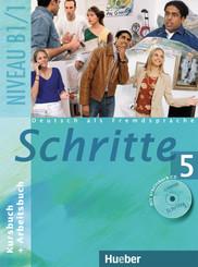 Schritte - Deutsch als Fremdsprache: Kursbuch + Arbeitsbuch, m. Arbeitsbuch-Audio-CD; Bd.5