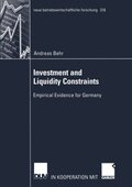 Investment and Liquidity Constraints