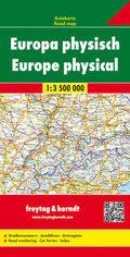 Freytag & Berndt Autokarte Europa, physisch; Europa, fisico; Europe fysiek