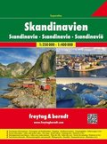 Freytag & Berndt Atlas Skandinavien Superatlas, Autoaltas 1:250.000 - 1:400.000; Superatlas Scandinavia / Superatlas Sca
