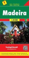 Freytag & Berndt Autokarte Madeira 1:40.000