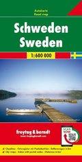 Freytag & Berndt Autokarte Schweden