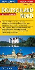 Travelmag Reisekarten: Deutschland Nord