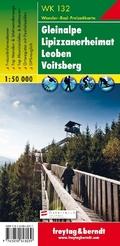 Freytag & Berndt Wander-, Rad- und Freizeitkarte Gleinalpe, Lippizanerheimat, Leoben, Voitsberg