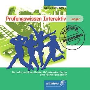 Prüfungswissen interaktiv für Informatikkaufleute, IT-Systemkaufleute und Fachinformatiker, 1 CD-ROM