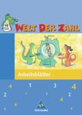 Welt der Zahl, Ausgabe Grundschule Berlin, Brandenburg, Mecklenburg-Vorpommern u. Thüringen: 4. Schuljahr, Arbeitsheft