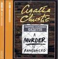 A Murder Is Announced, 6 Audio-CDs - Ein Mord wird angekündigt, 6 Audio-CDs, englische Version