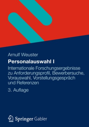 Personalauswahl I - Bd.1
