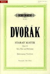 Stabat Mater op.58, Klavierauszug