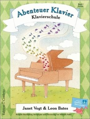 Abenteuer Klavier, m. Audio-CD - Bd.3