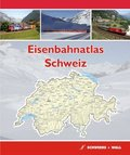 Eisenbahnatlas Schweiz / Railatlas Suisse / Railatlas Svizzera / Railatlas Switzerland