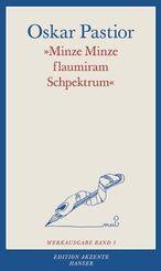 'Minze Minze flaumiran Schpektrum'