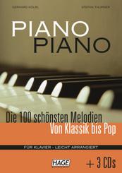 Piano Piano, leicht arrangiert - Bd.1