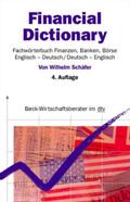 Financial Dictionary, , Englisch-Deutsch/Deutsch-Englisch
