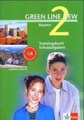 Green Line New, Ausgabe für Bayern: Trainingsbuch Schulaufgaben, 6. Schuljahr, m. Audio-CD; Bd.2