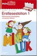 miniLÜK: Erstlesestation, ab Klasse 1 - Tl.1