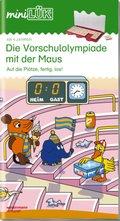 miniLÜK: Die Vorschulolympiade mit der Maus - Tl.2