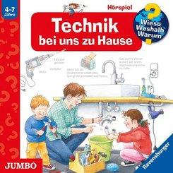 Technik bei uns zu Hause, 1 Audio-CD - Wieso? Weshalb? Warum?