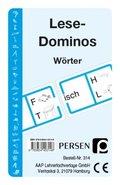 Lese-Dominos, Wörter (Kartenspiel)
