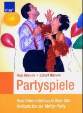Bücken, Partyspiele
