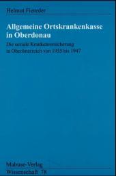Allgemeine Ortskrankenkasse in Oberdonau