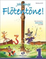 Jede Menge Flötentöne!, für Altblockflöte - Bd.1