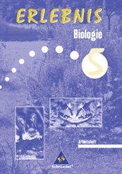 Erlebnis Biologie, Ausgabe Sachsen, Neubearbeitung: 5. Schuljahr, Arbeitsheft