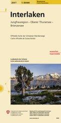 Landeskarte der Schweiz Interlaken
