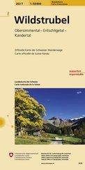 Landeskarte der Schweiz Wildstrubel