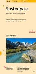 Landeskarte der Schweiz Sustenpass