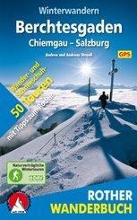 Rother Wanderbuch Winterwandern Berchtesgaden, Chiemgau, Salzburg