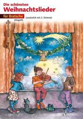 Die schönsten Weihnachtslieder, Für Bratsche