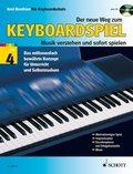Der neue Weg zum Keyboardspiel, m. Audio-CD - Bd.4