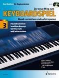 Der neue Weg zum Keyboardspiel, m. Audio-CD - Bd.3