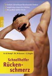 Schnellhelfer Rückenschmerzen