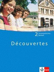 Découvertes: Grammatisches Beiheft, 2. Lernjahr; Bd.2