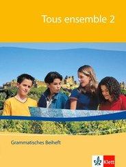 Tous ensemble, Ausgabe ab 2004: 2. Lernjahr, Grammatisches Beiheft; Bd.2