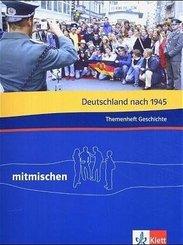 Mitmischen Themenheft Geschichte: Deutschland nach 1945