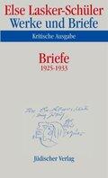 Werke und Briefe, Kritische Ausgabe: Briefe 1925-1933; Bd.8