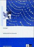 Lambacher-Schweizer, Ausgabe Baden-Württemberg ab 2004: 7. Schuljahr, Lösungen; Bd.3