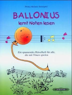 Ballonius lernt Noten lesen!