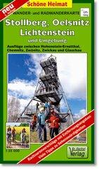 Doktor Barthel Karte Stollberg, Oelsnitz, Lichtenstein und Umgebung