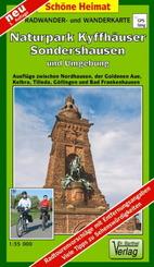 Doktor Barthel Karte Naturpark Kyffhäuser, Sondershausen und Umgebung