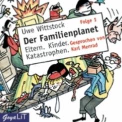 Der Familienplanet, 1 Audio-CD - Folge.1