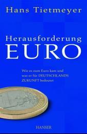 Herausforderung EURO (Ebook nicht enthalten)