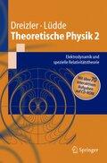 Theoretische Physik: Elektrodynamik und Relativitätstheorie, m. CD-ROM; 2