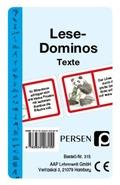 Lese-Dominos, Texte (Kartenspiel)