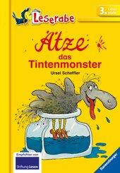 Ätze. das Tintenmonster - Leserabe 3. Klasse - Erstlesebuch für Kinder ab 8 Jahren