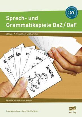 Sprech- und Grammatikspiele, DaF/DaZ